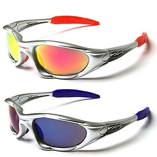 4bae14461df X-Loop Twin Pack of Sunglasses - Ski   Sporting Sunglasses for Adults -  Unique