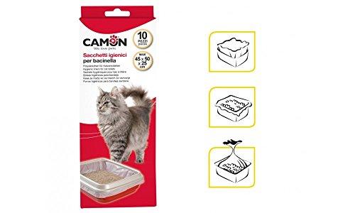 sacchetti igienici per lettiera gatto 10 pezzi