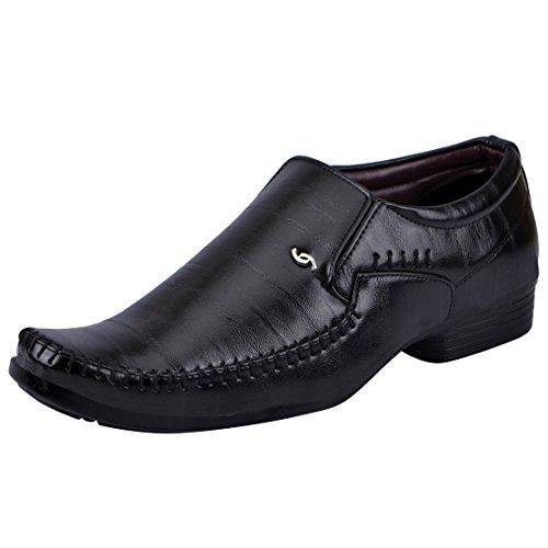 Fausto K6071-42 Black Men's Formal Loafers
