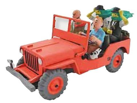Tintin et Milou: Tim & Struppi - Modellauto Roter Jeep mit