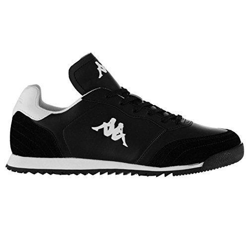 kappa-herren-denser-turnschuhe-sportschuhe-sneaker-freizeit-schnuerschuhe-black-white-9-43