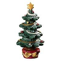 TriLance Christmas Tree for Aquarium Decor Fish Tank Aquarium Ornament Resin Crafts, Cartoon Xmas Tree Ornaments (A)