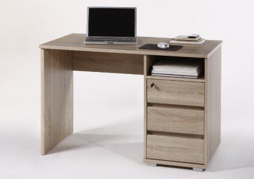 moebel-guenstig24.de Schreibtisch Primus PC Tisch Computertisch Home-Office Büro Eiche Sonoma
