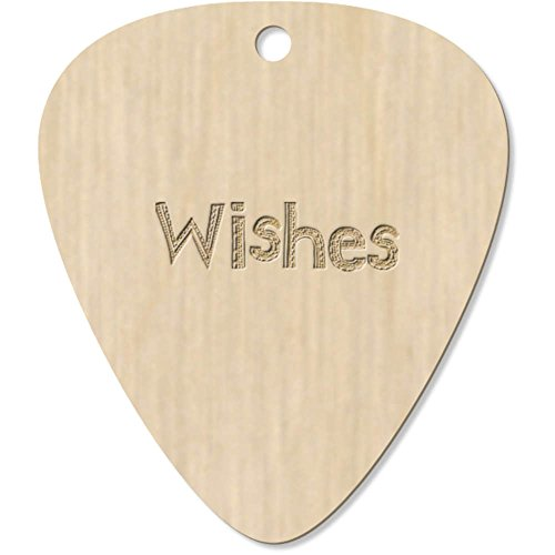 Azeeda 7 x 'Wishes' Guitarra Púa (GP00003416)