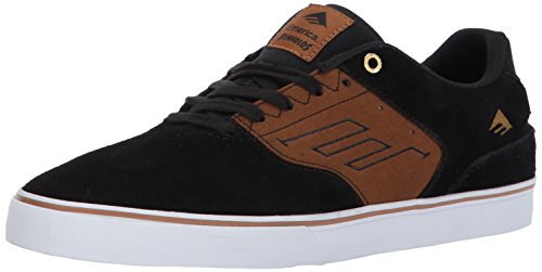 Emerica Emerica Mns The Reynolds Low, Baskets mode homme Black Tan