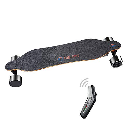 Tony Hawk Meepo Electric Skateboard Accessories 540w Motor Dual Drive High Speed Scooter Wireless Remote Control Scooter Adult, 37.8''* 8.7''* 5.8'' Black. -