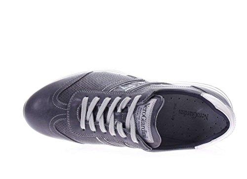 Nero Giardini Uomo Sneaker P704910U-200 Sneaker in pelle Blu