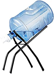 Trycooling Portable Anti-Slip Water Dispenser Stand Gallon Water Jug Holder Stainless Steel Rack for 5 Gallon