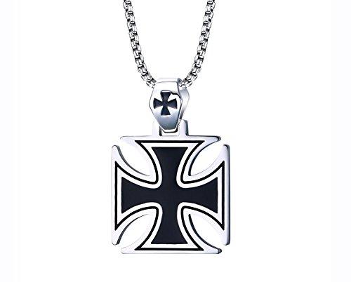 vnox-herren-edelstahl-die-ritter-templar-kreuz-anhanger-halskette-silber-schwarzfreie-kette