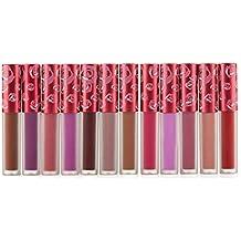 12 color matte velvet matte does not fade cup liquid non-stick lipstick lipstick