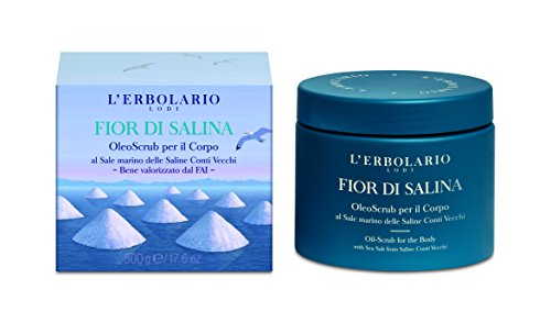 L'Erbolario FIOR DI SALINA Öl-Peeling für den Körper, 500 g