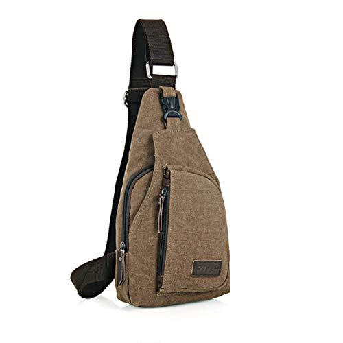 Monlladek Koreanischen Stil Mode männer Brust Tasche Radfahren Sporttasche lässig Reisetasche Schultertasche für Camping wandern - Koreanischen Tasche