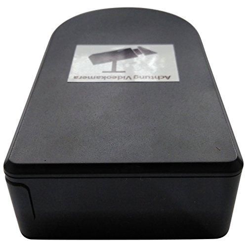 V2.0 *WELTNEUHEIT* Wi-Fi Black-Box mobile Mini-WLAN-Kamera mit 180° horizontal drehbarer Linse per App aus der Ferne/ BABY MONITOR / Full-HD Mini-IP-Netzwerk-Kamera mit MicroSD-Speicher bis 256 GB / Zugriff per Smartphone und Tablet / Mini-WLAN- Cam mit Bewegungserkennung. Marke: BriReTec® - 3