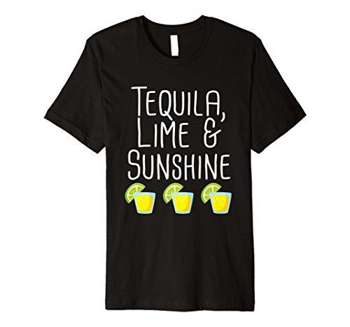 Funny Tequila Lime und Sunshine T-Shirt Party Trinken Zitat