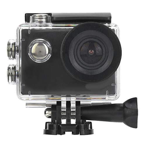 VBESTLIFE 4K 30fps HD WiFi Sportkamera Kit, 170 ° Weitwinkel Action Unterwasserkamera, 30M wasserdichte Kamera zum Tauchen Radfahren.