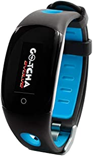 Go-tcha Evolve (Go-tcha 2) LED-Touch Wristband Watch for Pokemon Go with Auto Catch and Auto Spin - Black/Blue