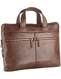 4219d04878 Leonhard Heyden Briefcase with zip Slim 15