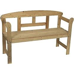 Spetebo - Banco de madera para jardín