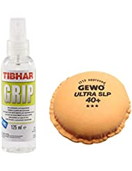 bribar rápido agarre raqueta de tenis de mesa Juego de limpieza