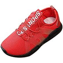 Zapatillas Unisex Niños,ZARLLE Zapatos Niños Niñas Casual Velcro Zapatillas Niño Zapatillas de Malla para
