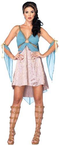 Leg Avenue 85035 - Goldene Göttin Kostüm, Größe L, blau
