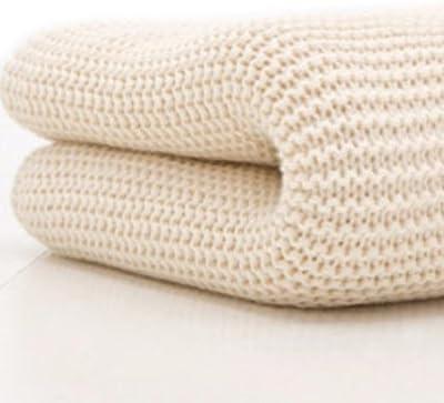 Belledorm CELLBLANKETSCM - Manta de 100% algodón, tamaño individual, color beige