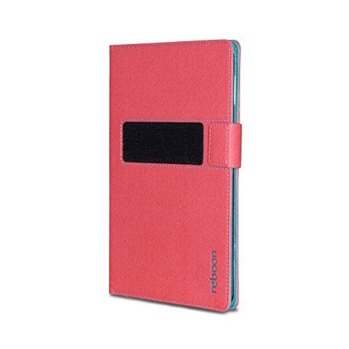 reboon booncover Tablet Hülle   u.a. für Google Nexus 7, HP Slate 7   pink Gr. S2   Tablet Tasche, Standfunktion, Kfz Tablet Halterung & mehr