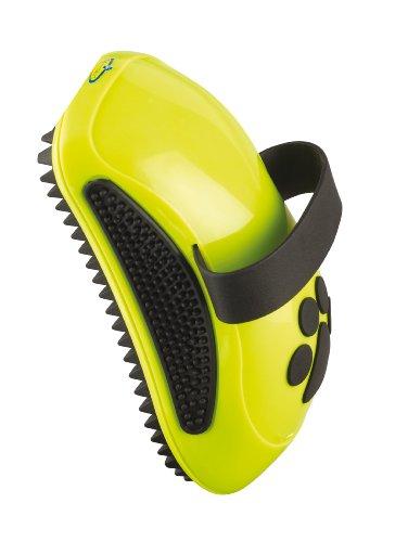 FURminator Striegel für Hunde (Fellpflege Hundebürste zum Ausbürsten von Staub und losem Haar für gesundes glänzendes Fell, mit Gummi Noppen und ergonisch geformtem Griff)