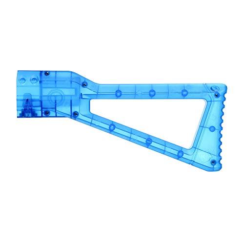 WORKER AK Style Shoulder Stock para NERF N-Strike Elite / Modulus Series Color de Juguete Azul Transparente