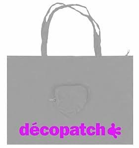 Decopatch Sac nylon Argenté 49 x 49 cm