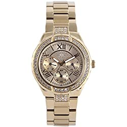 Guess W0111L2 Ladies Sport - Wristwatch Women's, Stainless Steel, Band Colour: gold