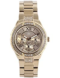 Guess Damen-Armbanduhr Edelstahl XS Ladies Sport Analog Quarz W0111L2