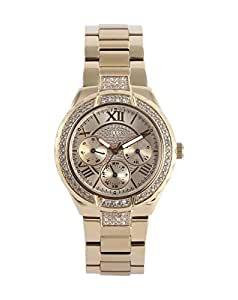 Guess Damen-Armbanduhr Edelstahl XS Ladies Sport Analog Quarz W0111L2