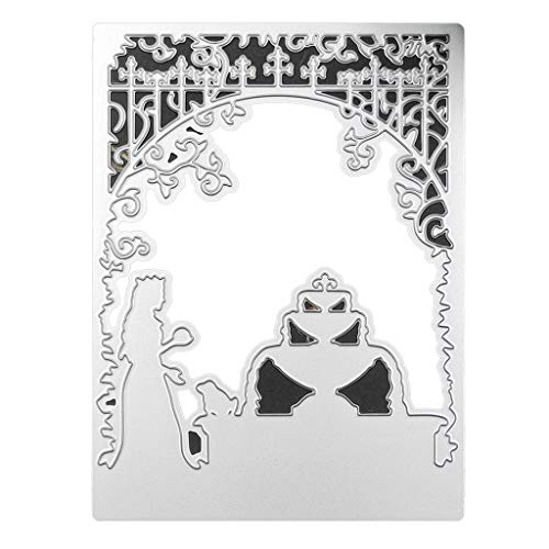 Xurgm - Fustelle per scrapbooking, per decorazioni natalizie, in metallo