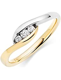 Asset Jewels Silver Real Diamond Ring For Girls/ Women - B078LXCC19