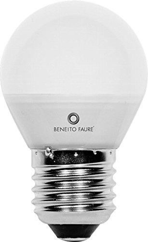 ESFERICA 5W E14 y E27 220V 360º LED de Beneito Faure - Blanco muy cá