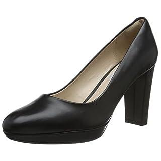 Clarks Kendra Sienna, Women's Closed-Toe Pumps, Black (Black Leather), 6 UK (39.5 EU)