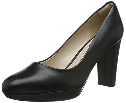 Clarks Kendra Sienna, Women's Closed-Toe Pumps, Black (Black Leather), 5