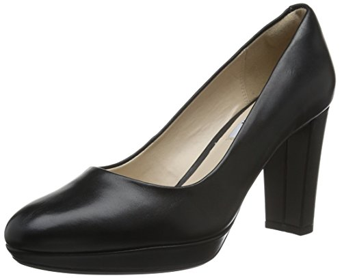 Clarks Kendra Sienna, Women's Closed-Toe Pumps, Black (Black Leather), 5 UK (38...