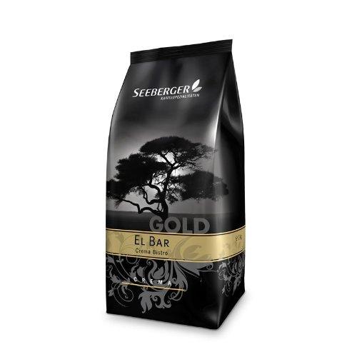 Seeberger Kaffee EL BAR Gold 1000g Bohnen