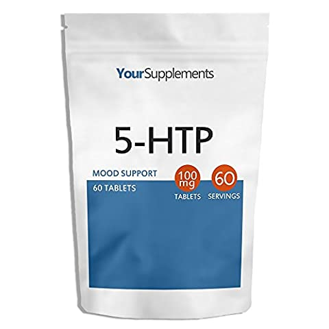 Your Supplements - 5-HTP 100mg Tablets - Pack of 60