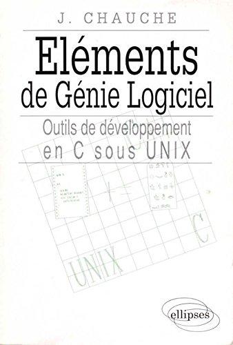 Eléments de génie logiciel par Jacques Chauché