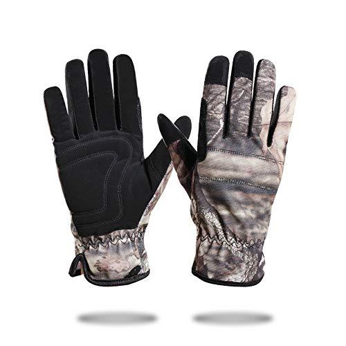 Guanti sportivi guanti touch screen, guanti termici antivento antiscivolo per dita complete per smartphone texting - scaldamani e gel in silicone per uomo donna ciclismo e corsa per moto in bicicletta