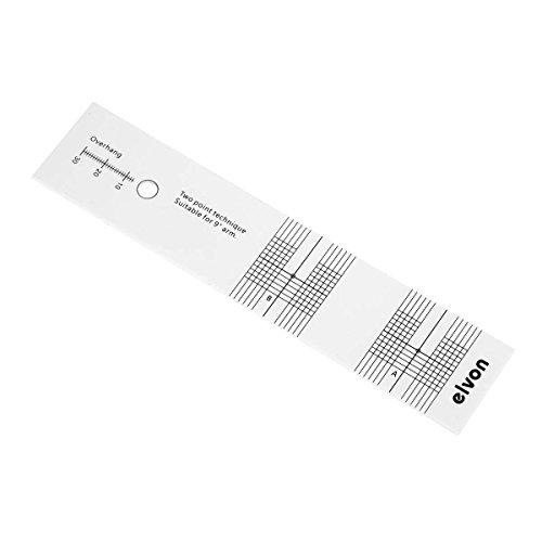 Acrylic LP Vinyl Pickup Calibration Distance Gauge Adjustment Tool Phono Parts