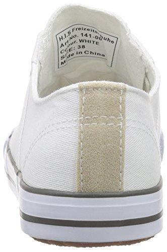 H.I.S Damen 141-007 Sneakers Weiß (white)