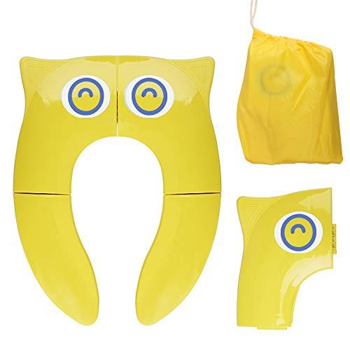 Asiento de Inodoro Plegable para Niños, Opret Tapa WC Orinal Bebe Reductor Compacto y Portátil Protector...
