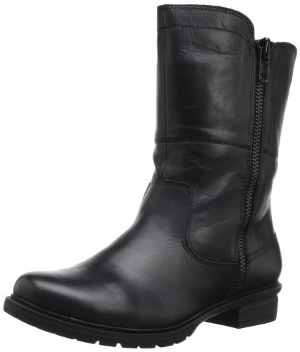 Kenneth Cole REACTION Women's Steady CLO Bootie,Black Leather,9.5 M - Reaction-schuhe Schwarz Kenneth Cole