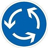 Verkehrszeichen VZ215, Kreisverkehr, Alu, RA1, Ø 42cm Verkehrsschild