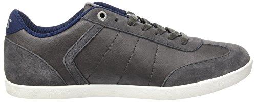 Levis Herren Loch Sneakers Grau (grigio Opaco)