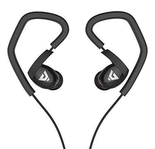 Sound Intonieren K62015New Sport Noise-Isolating In-Ear-Kopfhörer mit Mikrofon Kopfhörer, Lautstärkeregler, Studie Kabel, kompatibel mit PC/Smart Phone/iPhone 6/iPad/Samsung/PSP/iPod/HTC/Blackberry/Android Sound Isolating-in-ear-stereo